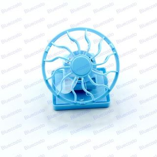 Cool Solar Energy Sun Power Clip on Cap Hat Cooling cooler Fan
