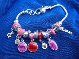 Counselor Bijou Charm Bracelet Energy Bliss Love Mother Nurse