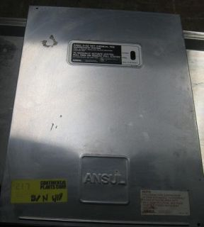 Commercial Range Hood w Ansul R 102 Wet Chemical Fire Suppression