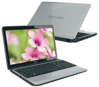 Toshiba 15.6 Notebook 4GB RAM, 500GB HD, DVD RW —