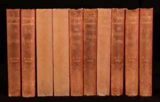 C1890 10 Vol Collection of Robert Smith Surtees Fictional Works