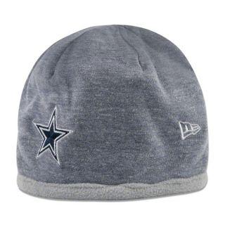 dallas cowboys women s fleeceflip knit hat