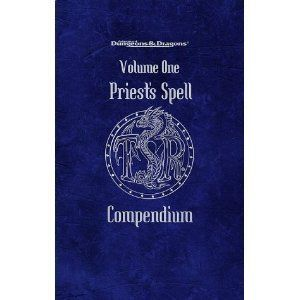 Dungeons Dragons Priests Spell Compendium Volume One 1 New TSR