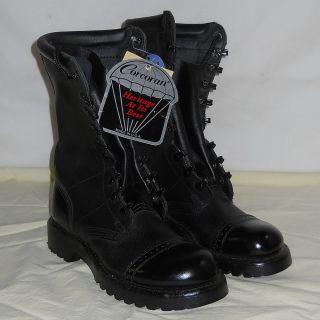 Never Used CORCORAN COMBAT JUMP BOOTS Mens Size 9 Womens Size 9