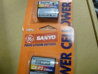 Batteries CRP2 Photo Lithium Battery Two Singles