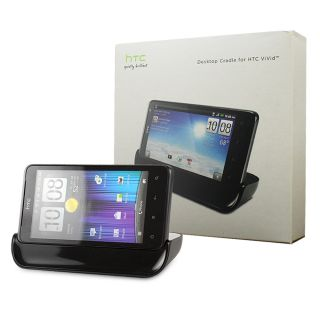 HTC Desktop Cradle Dock with Travel Charger for HTC VIVID OEM