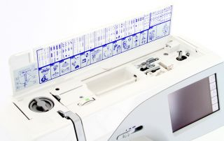 looking at a pristine Janome Memory Craft Sewing & Embroidery Machine