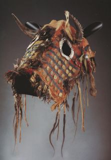 description american indian horse masks by mike cowdrey ned martin