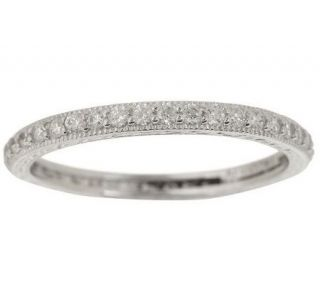 Tacori IV Diamonique Epiphany Micropave Eternity Ring —