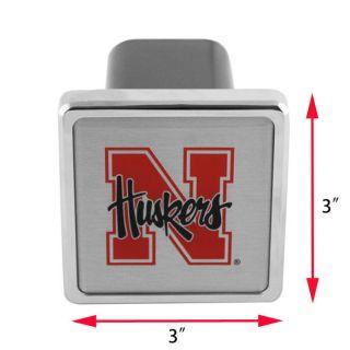Tailgate Hitch Cover College Football Nebraska Cornhuskers