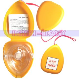 CPR Mask Face Mask Face Shield One Way Valve