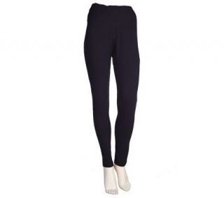 Motto Essentials Pull on Stretch Leggings with Seamed Front —