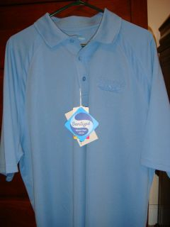 Rick Hendrick LEXUS Mens Polo Golf Shirt Blue Rare New with Tags