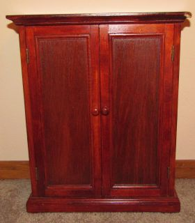 wood Furniture doll clothes ARMOIRE WARDROBE American Girl & 18 dolls