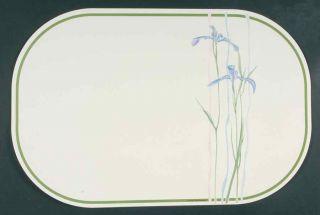 Corning Shadow Iris Reversible Vinyl Placemat 7729418