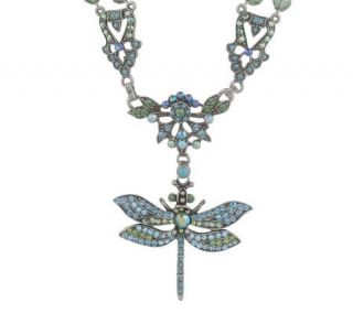Kirks Folly Mystic Garden Dragonfly Necklace —