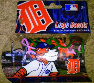Whos Your Tiger Detroit Tigers Logo Silly Bands