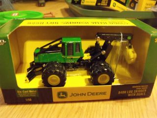 John Deere 848H Log Skidder w Duals 1 50 Scale 15888