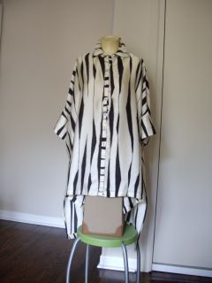 by Connie K One Sz Top Shirt Tunic Blouse
