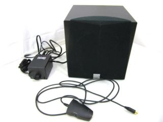 Creative Inspire 5 1 Subwoofer Replacement w Power Adapter and Volume
