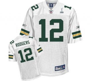 NFL Packers Aaron Rodgers SB XLV Youth ReplicaWhite Jersey —