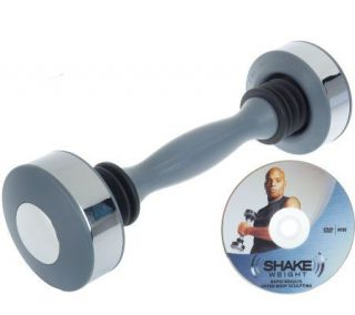 Shake Weight Mens 5lb Upper Body SculptingSystem with DVD —