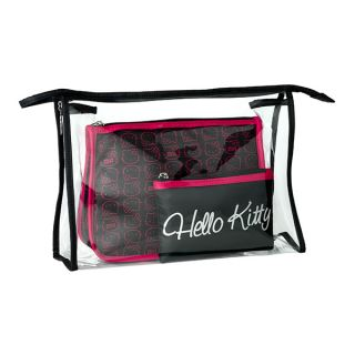 large clear plastic cosmetic case a medium sized cosmetic bag