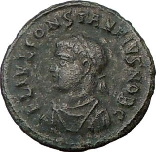 Constantius II 337AD Authentic Genuine Ancient Roman Coin Camp Gate