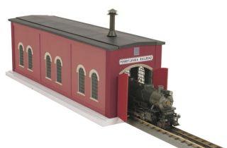 Pennsylvania Railroad Single Door Engine Shed Building