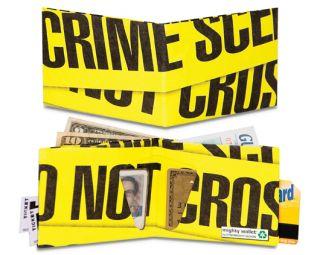 Dynomighty Crime Scene Bifold MIGHTY WALLET Tyvek
