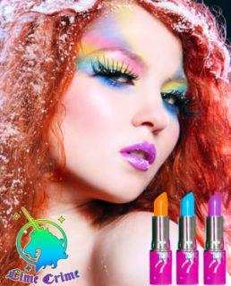 Lime Crime Countessa Fluorescent Opaque Lipstick Hot Pink Kawaii