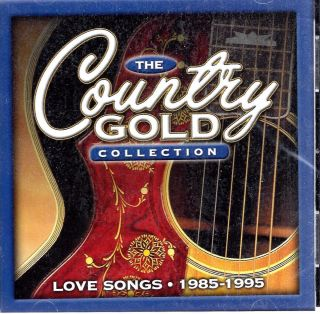 Country Gold Collection Love Songs 1985 1995 2 CD 34 Hits Time Life