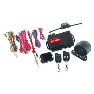 New Crime Stopper SP 400 1 Way Alarm Combo Remote Start