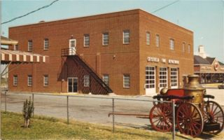 Vintage Crisfield Fire Department Crisfield Maryland