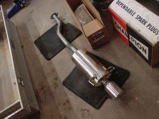 94 97 Honda Accord 4Cyl Universal Matrix Exhaust Muffler Bolt On Asm