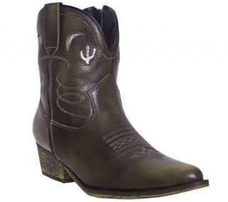 Dingo Boots Ladies 7 Underlay Zip Fashion Boots   A245478