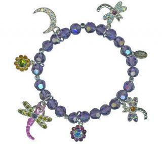 Kirks Folly Dragonfly Desire Stretch Bracelet   J300989