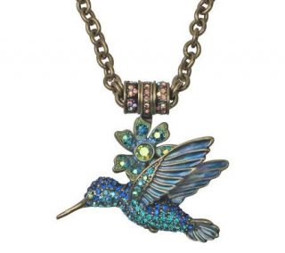 Kirks Folly Hummingbird Interchangeable Magnetic Necklace   J300983