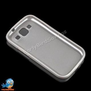 Gray 0 9mm Ultra Thin TPU Gel Case Cover Skin for Samsung Galaxy S3