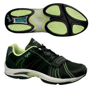 Synergy Studio Cross Training Shoes Black Light Green Aqua