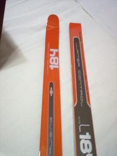 Fischer Cross Country Skis 184 No Wax Jupiter Control Nordic Crusing