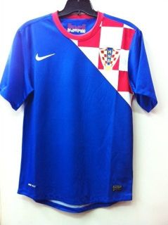 BNWT Nike Croatia Away o 2012 Soccer Football Jersey Trikot