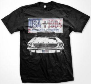 Mustang Country USA 1964 Classic Cars Tees Mens T Shirt