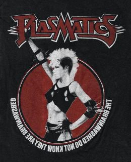 Wendy O Williams PLASMATICS Coup d Etat T shirt Original Printing from