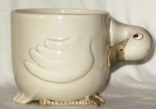 Vintage Fitz Floyd Animal Crackers Mug Duck 1978 Figural