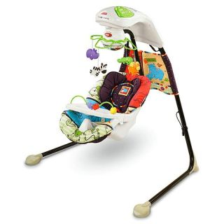 fisher price luv u zoo baby cradle swing new authorized dealer plays