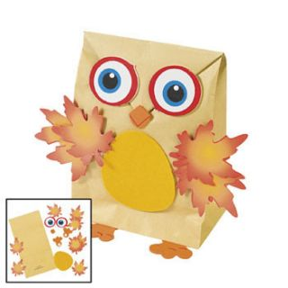 12 Hoot Owl Nature Bag Craft Kits Kids Crafts