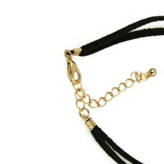cross boat anchor charms leather bracelet friendship bracelets BR 1383