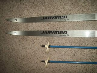 Jarvinen Touring Lite Cross Country Skis Polar 52 G G Poles Haugen 215