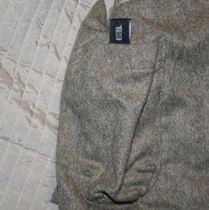 brown hugo boss wool cashmere jacket coat craig l 44